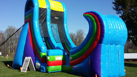 Image of a Rampage Inflatable Water Slide