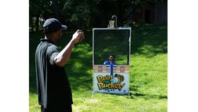 Image of a Beat the Bucket Dunking Game