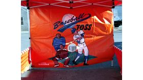 Image of a Baseball Toss Game