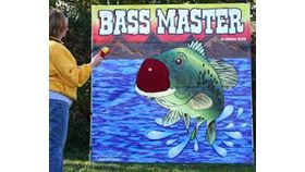 Image of a Bass Master Carnival Game