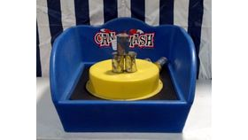 Image of a Can Smash Carnival Game
