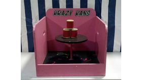 Image of a Krazy Kans Wooden Carnival Game