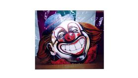 Image of a Clown Pitch Bean Bag Toss