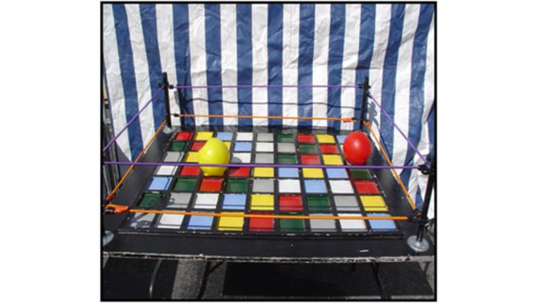 Picture of a Crazy Ball Carnival Game
