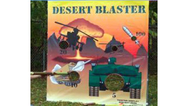 Picture of a Desert Blaster Carnival Bame