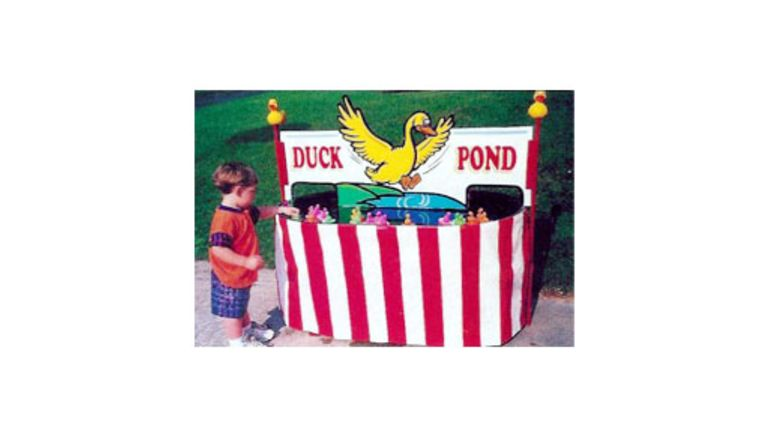 Picture of a Duck Pond Carnival Game