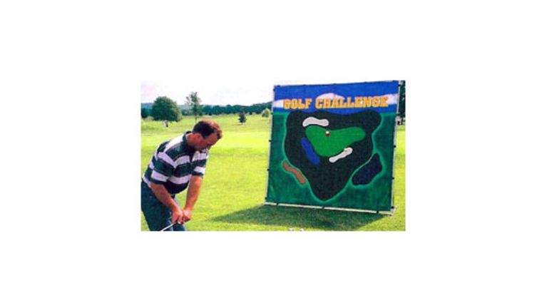 Picture of a Golf Challenge Carnival Game