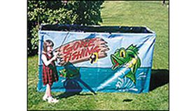 Image of a Gone Fishing Carnival Game - Frame