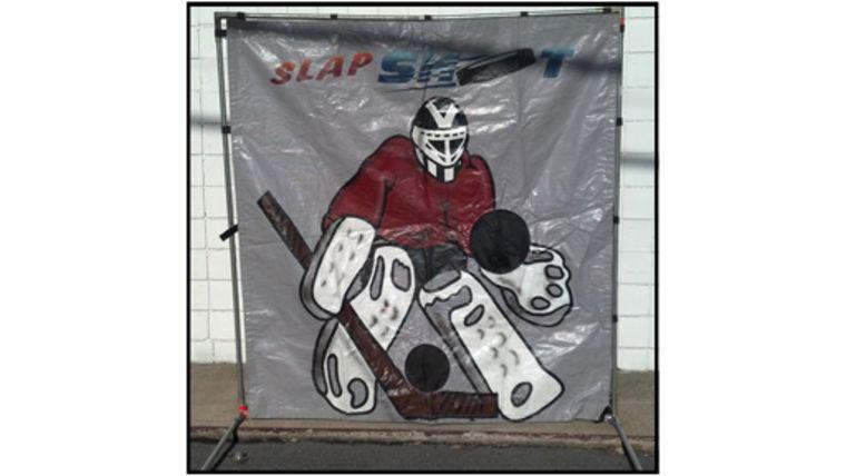 Picture of a Hockey Slap Shot Shootout