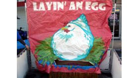 Image of a Layin' an Egg Carnival Game