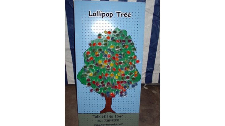 Image of a Lollipop Tree Carnival Game