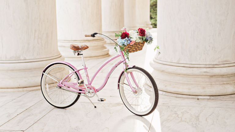 Party Rental Image of Tandem Bicycle in the Vintage Bicycles Collection