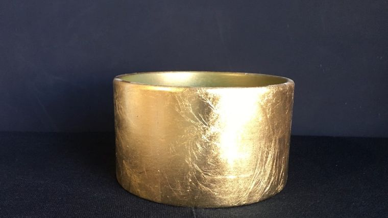 Picture of a Brushed Gold Vessel