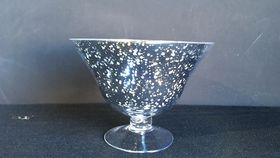 Image of a Silver Mercury Glass Dish