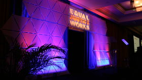 Image of a Triangle Backdrop