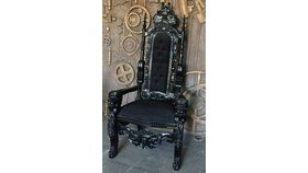 Image of a Throne - Black