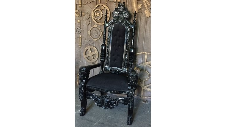 Picture of a Throne - Black