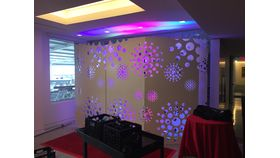 LED Swiss Cheese Panel - Step and Repeat 8'x 12' image