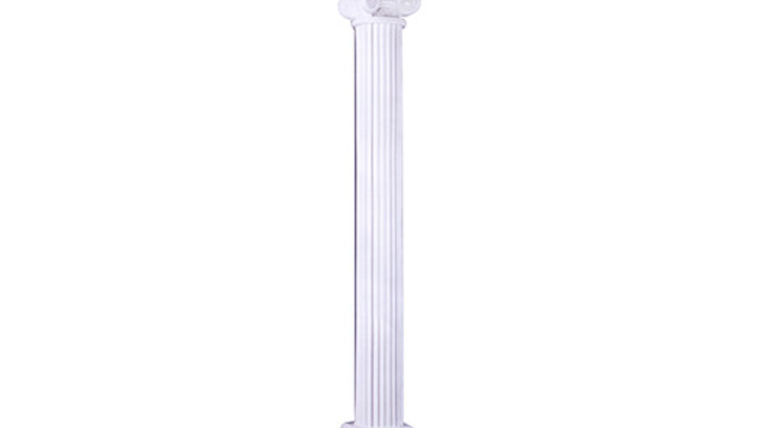 Picture of a Column: Scamozzi 6' White