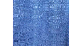 Image of a Drape: Banjo, Blue 3' Side Panels