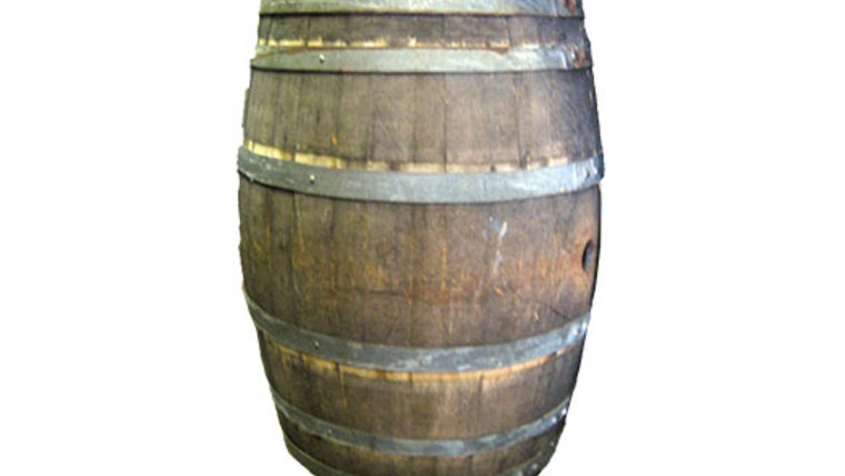 Picture of a Prop: Western, Wine Barrel