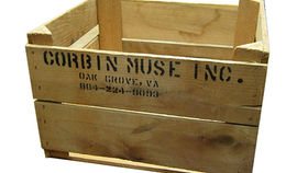 Image of a Prop: Peach Crate