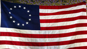 Image of a USA Colonial Flag, 3??x5??