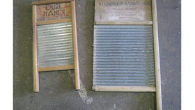 Image of a Prop:  Western, Washboards