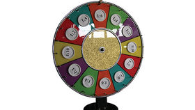Image of a Prize Wheel of Chance