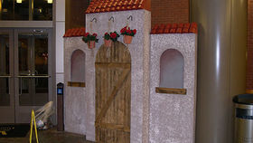Image of a Spanish Facade Adobe Hut