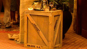 Image of a Prop: Safari, Weathered Shipping Crate