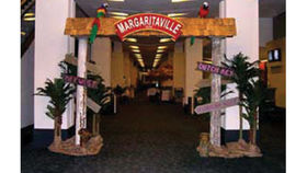 Image of a Entrance: Margaritaville columns with bases