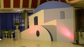 Image of a Set: International, Santorini Island Building