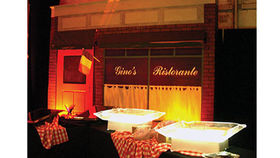 Image of a Gino's Restaurant Set