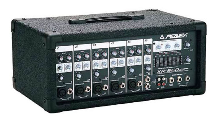 Picture of a Audio Visual Support:  Peavey Mixer: Powered Mixer XR560
