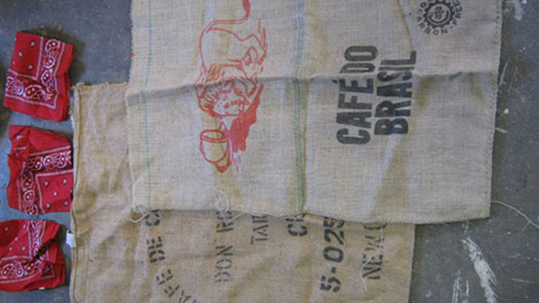 Picture of a Prop: Western, Coffee Sack, Burlap