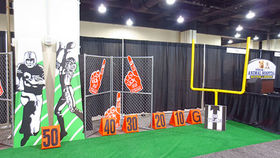 Image of a Prop: Sports, Football Goal Post (Pair)