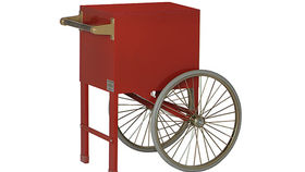 Image of a Novelty Food: Pop Corn Machine Cart