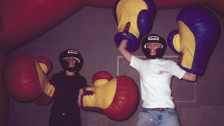 Picture of a Bouncy Boxing