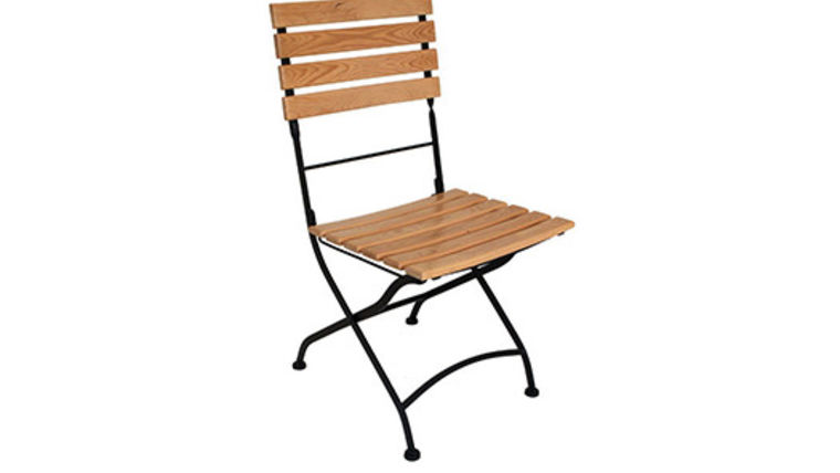 Picture of a Wood Bistro Chair
