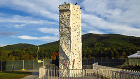 Image of a Rock Climb Wall - 24ft/4Lanes