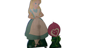 Image of a Prop: Storybook, Alice in Wonderland: Small Alice