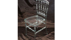 Image of a Chair: Clear Resin Versailles