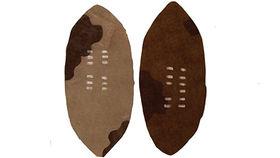 Image of a Prop: Shields, Zulu Shields (Set of 4)