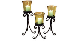 Image of a Candles: Madrid Votives Set of 3
