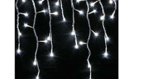 Image of a Lighting: String Lights: Icicle Lights