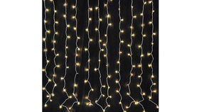 Image of a Curtain Style Twinkle Lights