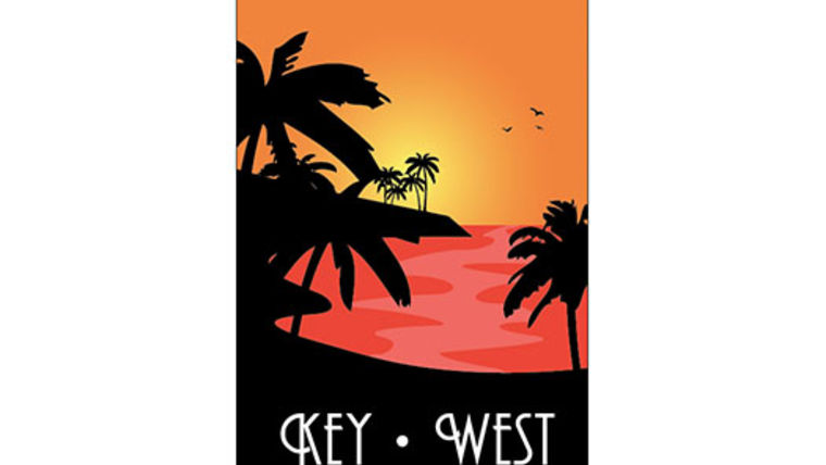 Picture of a Travel Poster, Key West
