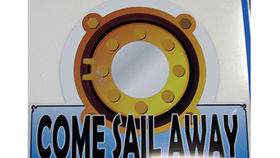 Image of a Nautical Sign, Come Sail Away