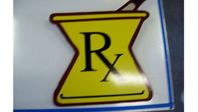 Image of a Pharmacy, Rx Sign